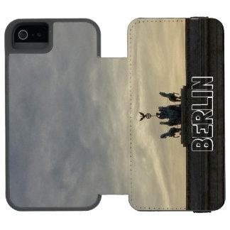 ブランデンブルク門の日没001.04、ベルリン INCIPIO WATSON™ iPhone 5 財布 ケース