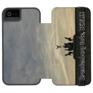 ブランデンブルク門の日没001.06、ベルリン INCIPIO WATSON™ iPhone 5 財布 ケース