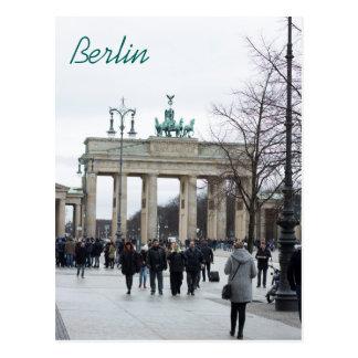 ブランデンブルク門の郵便はがき ポストカード