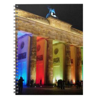ブランデンブルク門ドイツ ノートブック