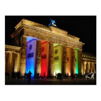ブランデンブルク門ドイツ ポストカード