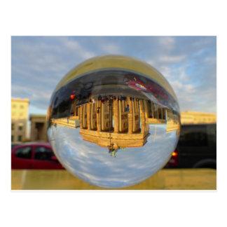 ブランデンブルク門、ベルリンのクリスタル・ボールの夕べ ポストカード