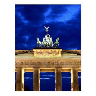 ブランデンブルク門、ベルリン ポストカード