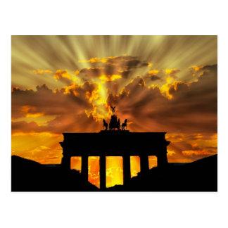 ブランデンブルク門 ポストカード