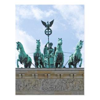 ブランデンブルク門- Brandenburgerの岩山 ポストカード