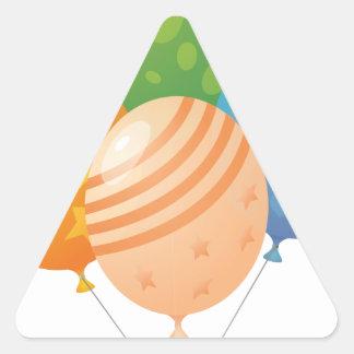 ブランデーグラス 三角形シール