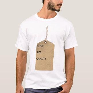 ブランドのラベル Tシャツ