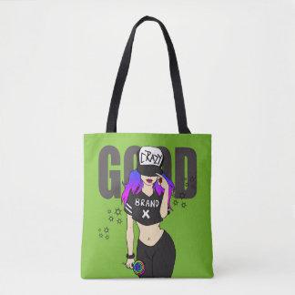 ブランドXのグラフィック・デザイン トートバッグ