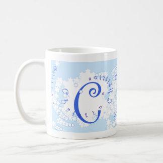 ブリザード-クリスティーン コーヒーマグカップ