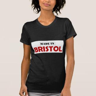 ブリストルで作られる Tシャツ