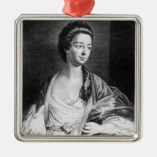 ブリストルのエリザベスChudleighの伯爵婦人 メタルオーナメント