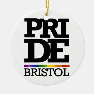 ブリストルのプライド- .PNG セラミックオーナメント