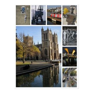 ブリストルの数々のイメージのポートレートの眺め ポストカード