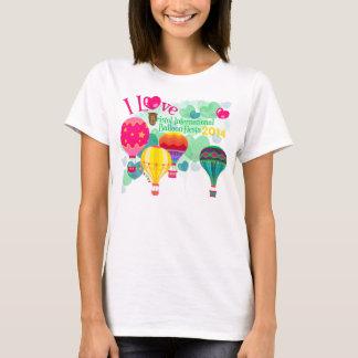 ブリストルの気球のフェスタの女性Tシャツ Tシャツ
