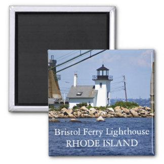 ブリストルフェリー灯台、ロードアイランドの磁石 マグネット