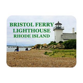 ブリストルフェリー灯台、ロードアイランド マグネット