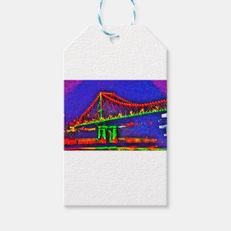 ブリスベーンの階橋オーストラリアの芸術の効果 ギフトタグ