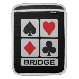 ブリッジ・プレーヤーのカスタムなiPad/ラップトップスリーブ iPadスリーブ