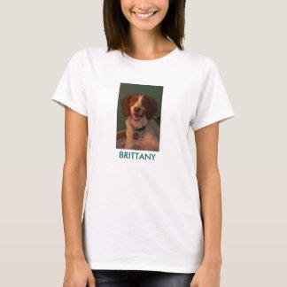 ブリッタニーが付いているカスタムで大きいレディースTシャツ Tシャツ