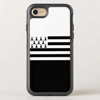 ブリッタニーのオッターボックスのiPhoneの場合の旗 オッターボックスシンメトリーiPhone 8/7 ケース
