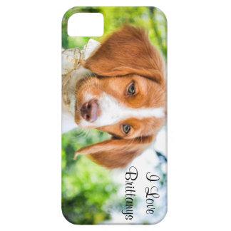 ブリッタニーの子犬のiPhoneの場合 iPhone SE/5/5s ケース
