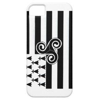 ブリッタニーの旗(ブルターニュ語) iPhone SE/5/5s ケース