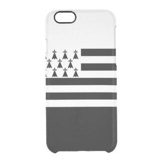 ブリッタニーの澄んなiPhoneの場合の旗 クリアiPhone 6/6Sケース