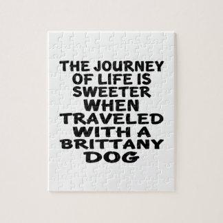 ブリッタニーの生命パートナーと走行される ジグソーパズル