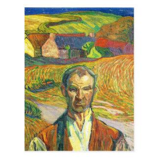 ブリッタニーの農家-アクセルTörneman ポストカード