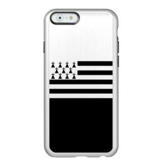 ブリッタニーの銀製のiPhoneの場合の旗 Incipio Feather Shine iPhone 6ケース