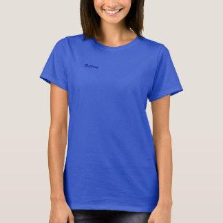 ブリッタニーの青く短い袖のTシャツ Tシャツ
