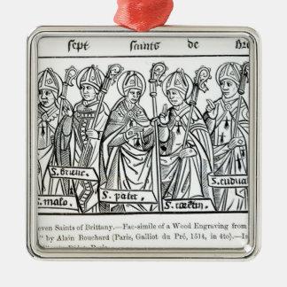 ブリッタニーの7人の聖者 メタルオーナメント