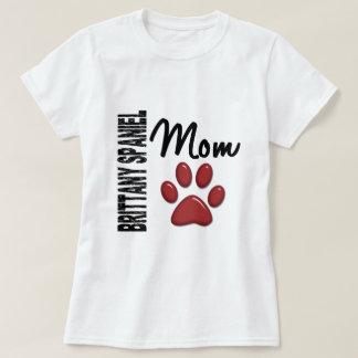ブリッタニースパニエル犬のお母さん2 Tシャツ
