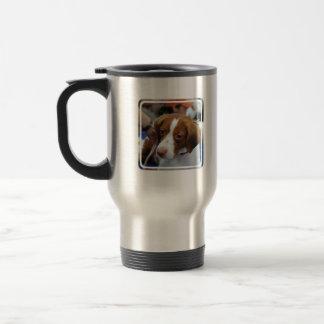 ブリッタニースパニエル犬のタンブラー トラベルマグ