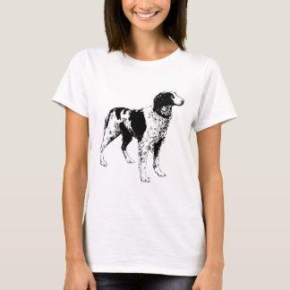ブリッタニースパニエル犬のTシャツ Tシャツ