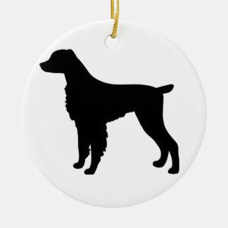 ブリッタニースパニエル犬犬 セラミックオーナメント