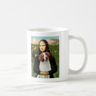 ブリッタニースパニエル犬3 -モナ・リザ コーヒーマグカップ