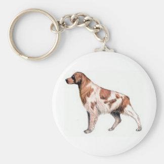 ブリッタニースパニエル犬 キーホルダー