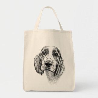 ブリッタニースパニエル犬 トートバッグ