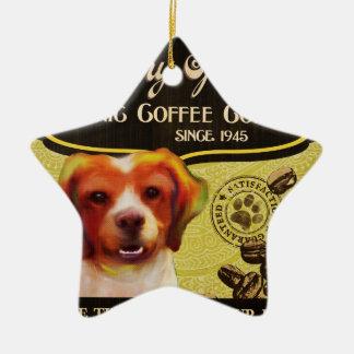 ブリッタニースパニエル犬- Organic Coffee Company セラミックオーナメント