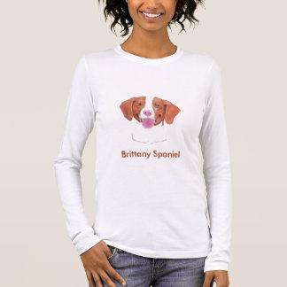 ブリッタニースパニエル犬 Tシャツ