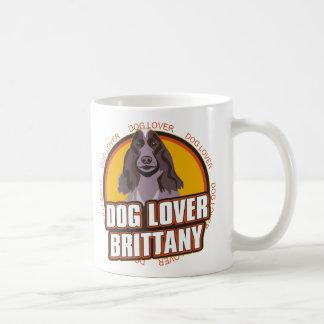 ブリッタニー犬の恋人 コーヒーマグカップ