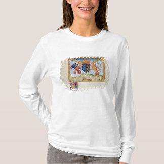 ブリッタニー1515年のアンの紋章付き外衣 Tシャツ