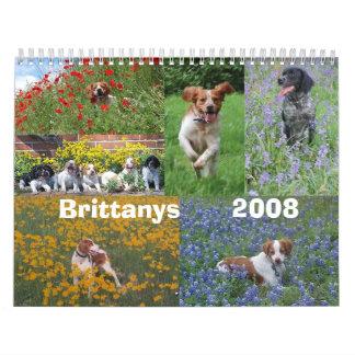 ブリッタニー2008のカレンダー カレンダー