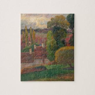 ブリッタニー-ポール・ゴーギャンの農場 ジグソーパズル