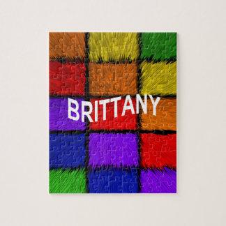 ブリッタニー(女性の名前) ジグソーパズル