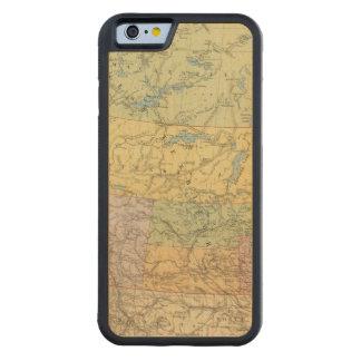 ブリティッシュ・コロンビアのノースウェスト準州 CarvedメープルiPhone 6バンパーケース