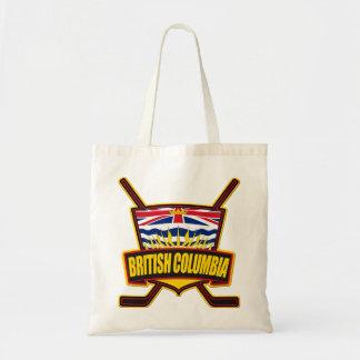 ブリティッシュ・コロンビアのホッケーの旗 トートバッグ