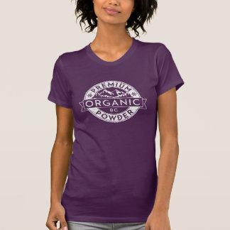ブリティッシュ・コロンビアの優れたオーガニックな粉 Tシャツ