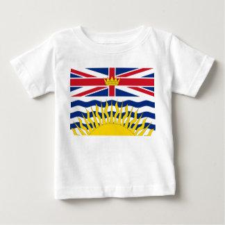 ブリティッシュ・コロンビアの旗 ベビーTシャツ